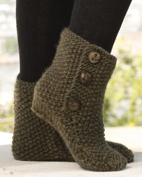 free knit slipper boot pattern knitted slipper boots pattern ideas that you will