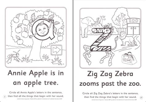 annie apple coloring page free coloring pages of letterland annie apple