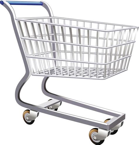 Keranjang Trolley shopping trolley vectors