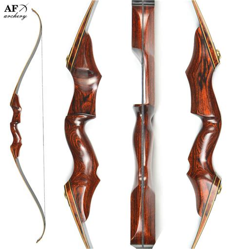 Black Wooden Recurve Bow For takedown black wooden recurve archery bow and