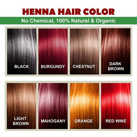 henna hair colors henna hair color 100 organic and way of