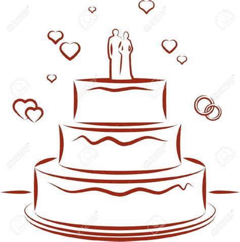 torta clipart wedding cake clip clipartion