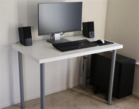 Parsons Computer Desk White Parsons Table With Drawers Brubaker Desk Ideas