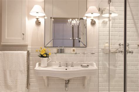 how to create a timeless bathroom