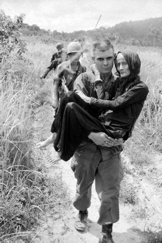 were american soldiers compassionate during the vietnam