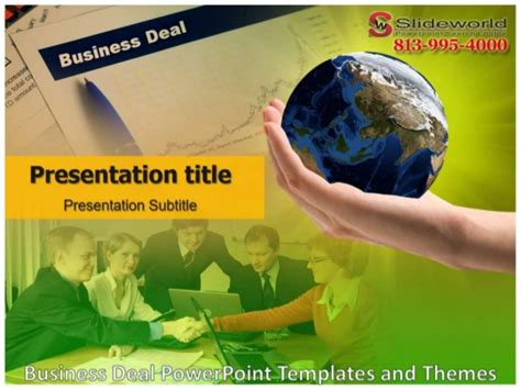 Business Deal Powerpoint Templates And Themes Deal Or No Deal Powerpoint Template