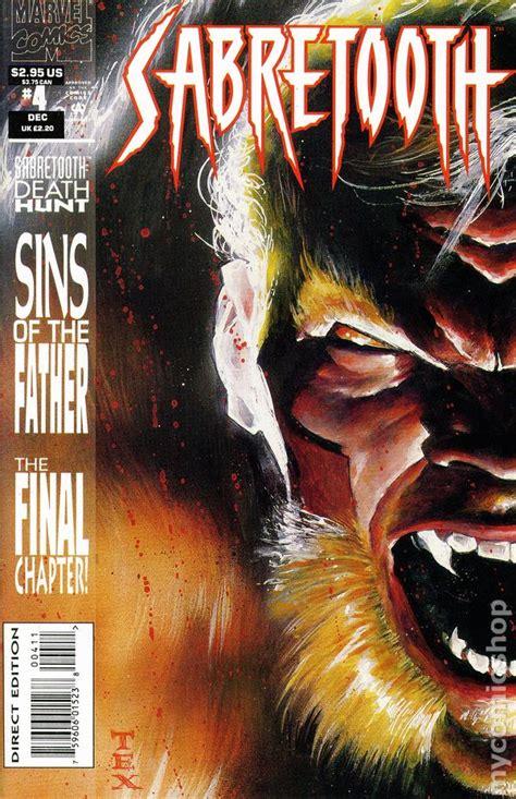 sabretooth and mystique vol 1 4 marvel comics database sabretooth 1993 1st series comic books