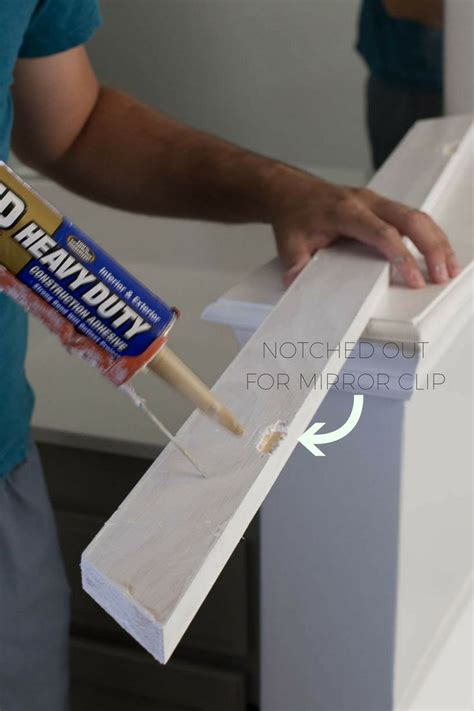 how to frame a bathroom mirror with clips best 25 mirror clips ideas on pinterest diy mirror
