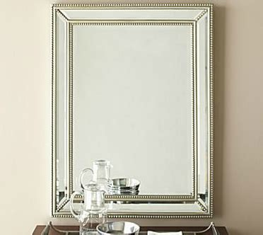 horchow beaded mirror horchow beaded beveled mirror look 4 less