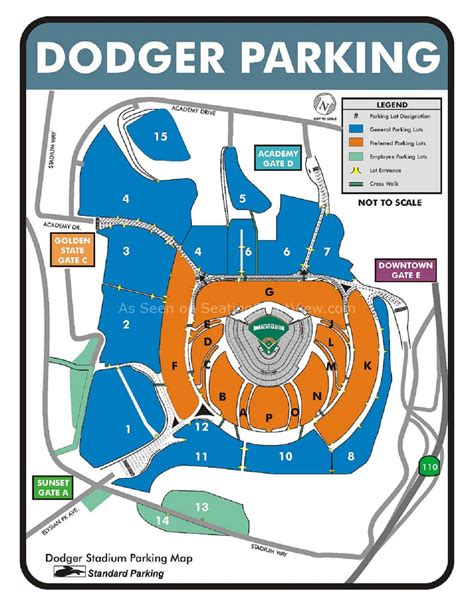 dodger stadium los angeles ca seating chart view