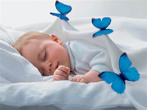 imagenes de good night baby wallpapers sleeping babies wallpapers