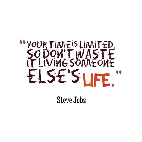 Your Is picture steve quote about time quotescover