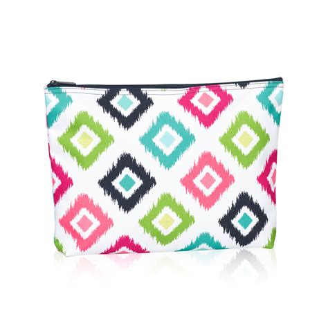 Geos My Baby Pouch Feather corners zipper pouch thirty one gifts