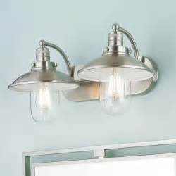 Nautical Bathroom Light Fixtures Retro Glass Globe Bath Light 2 Light Bathrooms Decor Vanities And Bathroom Light Fixtures