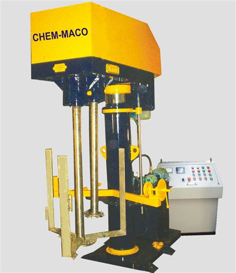 acrylic paint machine chem maco shaft disperser shaft disperser