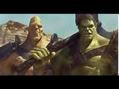 thor ragnarok plot synopsis confirms thor vs hulk battle thor ragnarok a recent footage of hulk in thor 3 youtube