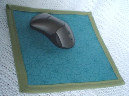 pattern for a fabric mouse fabric mouse pad free pattern home sweet home
