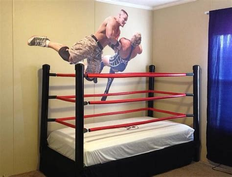 wwe wrestling bed how to make a diy wwe wrestling bed under 100 snapguide