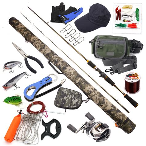 swing set troline combo 2 1m lure fishing kit casting fishing rods and reel combo