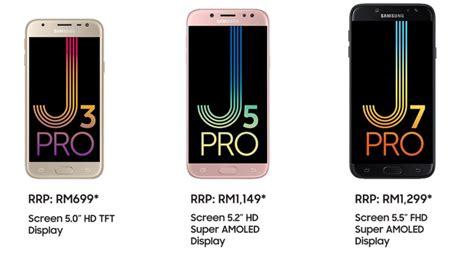Harga Samsung J5 Pro Minggu Ini siri galaxy j 2017 kini di malaysia meliputi j3 pro j5