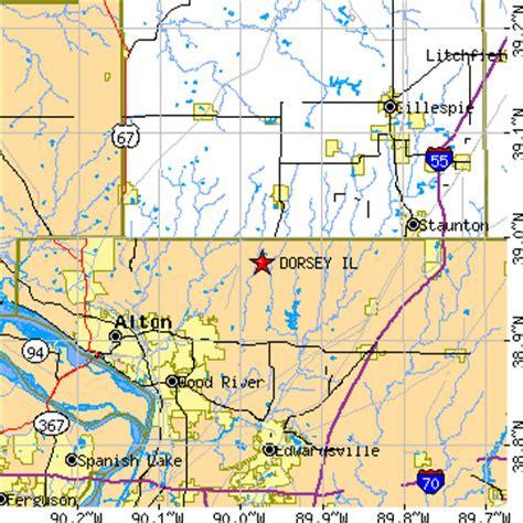 Cottage Il Zip Code by Dorsey Illinois Il Population Data Races Housing