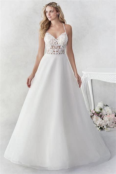 ella rosa style  beautiful tulle  lace aline