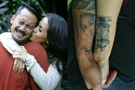 stefan william  artis  ukir tato bukti cintanya