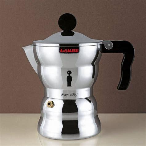 espressokocher alessi alessi alessi espressomaschine moka 3 tassen otto