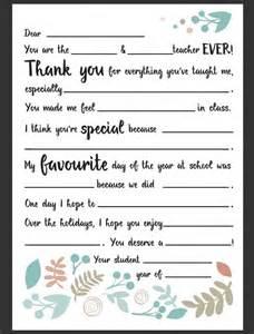 Appreciation Letter To English Teacher The 25 Best Ideas About Teacher Appreciation Letter On