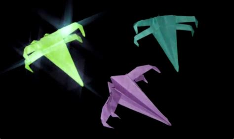 Origami X - origami x wing wars faltanleitung hd my crafts