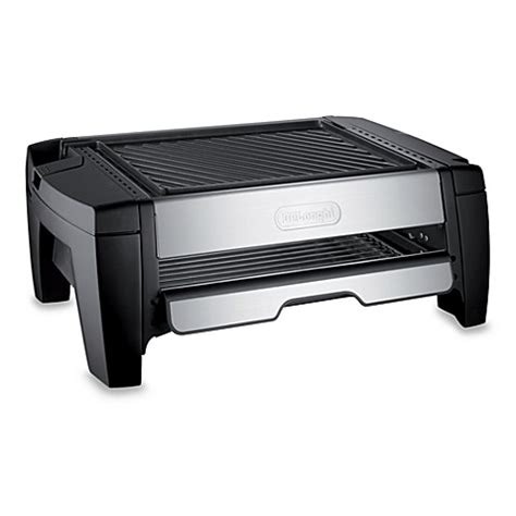 bed bath and beyond grill delonghi indoor grill and smokeless broiler bed bath