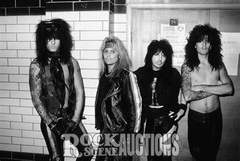 Motley Crue motley crue 1989 rock auctions