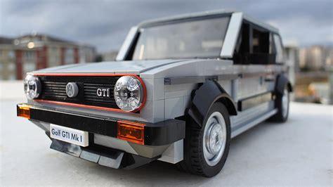 volkswagen golf 1 lego volkswagen golf gti mk1 is the ultimate retro