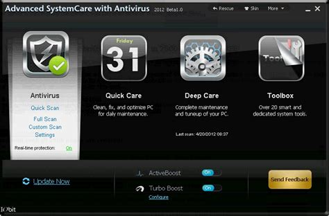 advanced system care with anti virus beta tech junction