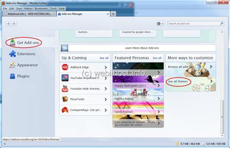 download themes untuk mozilla firefox webiihost info cara mengganti tema mozilla firefox