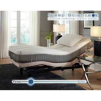 sleep science adjustable bed sleep science 9 quot natural latex twin xl mattress with
