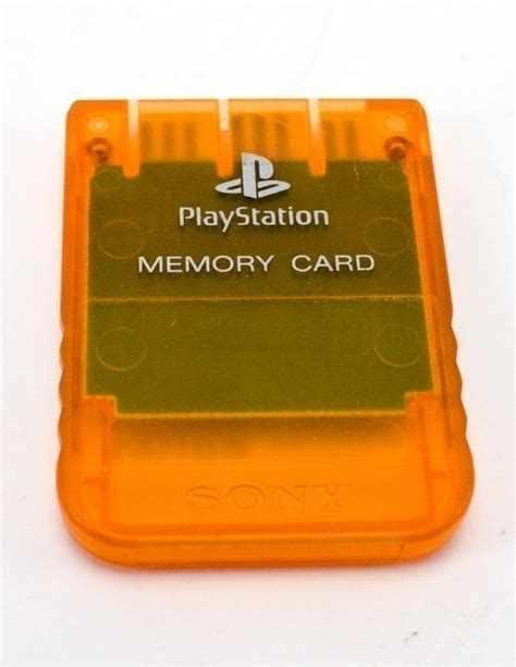 Memory Card Ps1 ps1 playstation 1 official sony memory card memory