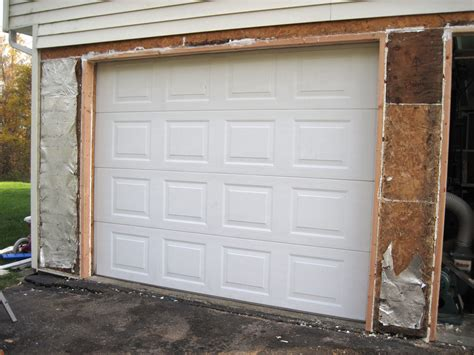 How To Frame A Garage Door by Garage Door Framing Detail Plans