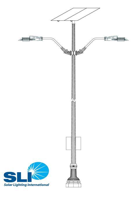 Light Pole Fixtures Solar Light Poles Solar Lighting International
