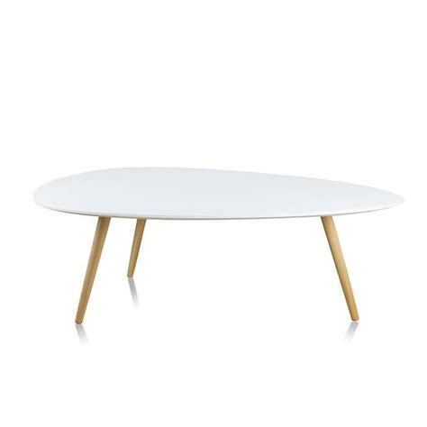 Table Basse Ovale Blanche 494 by Table Basse De Salon Blanche Ovale Pristina Achat