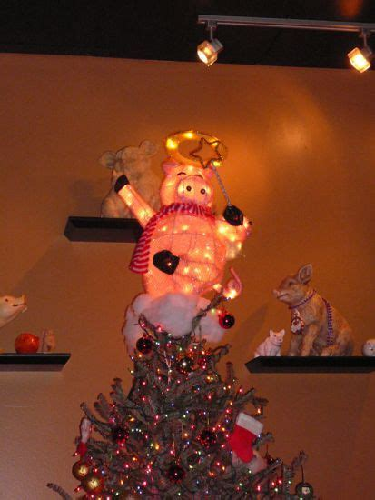 pig christmas tree topper i have been looking for one
