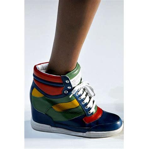 scarpe con zeppa interna marant sneakers con zeppa interna scarpe da ginnastica con la zeppa