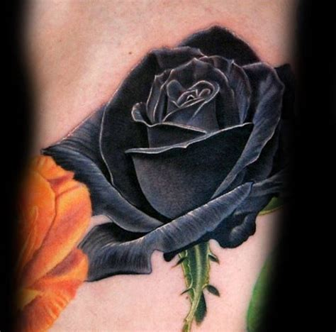 can you make a color tattoo black and grey 80 black rose tattoo designs for men dark ink ideas