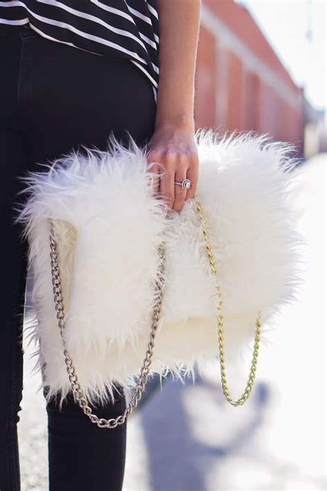 Faux Fur Clutch diy faux fur clutch diy white faux fur bag ikea faux