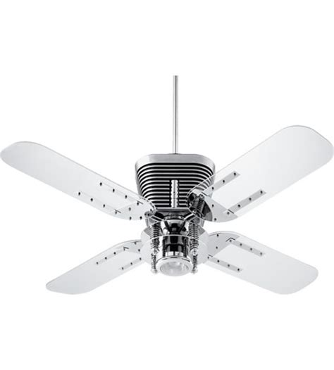 acrylic ceiling fan blades retro 52 inch chrome with clear acrylic blades ceiling fan