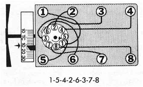 302 firing order diagram firing order picture for a 302 cleveland 1971 ford