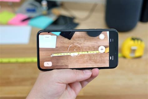 how to use measure app in ios 12 cnet