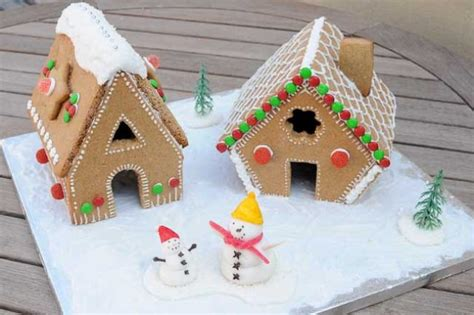 Mini Gingerbread House by 12 Gingerbread Recipes For Great Gingerbread Houses And