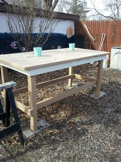 Patio Serving Table Outdoor Serving Table Husbands Scrap Wood Projects Tables Outdoor And Serving