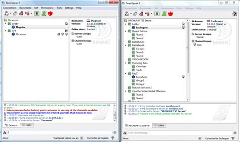 how to uninstall evolve client use multiple teamspeak 3 clients gameplayinside